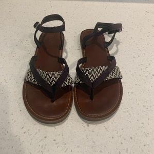 Ladies Toms Sandals Size 7